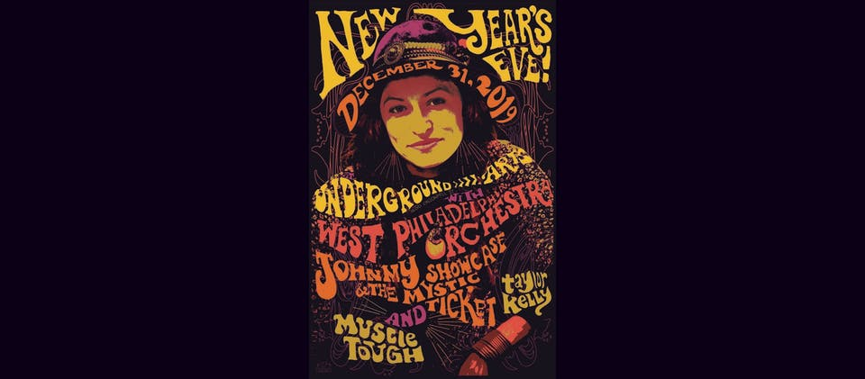 NYE BLOWOUT with WEST PHILADELPHIA ORCHESTRA + JOHNNY SHOWCASE