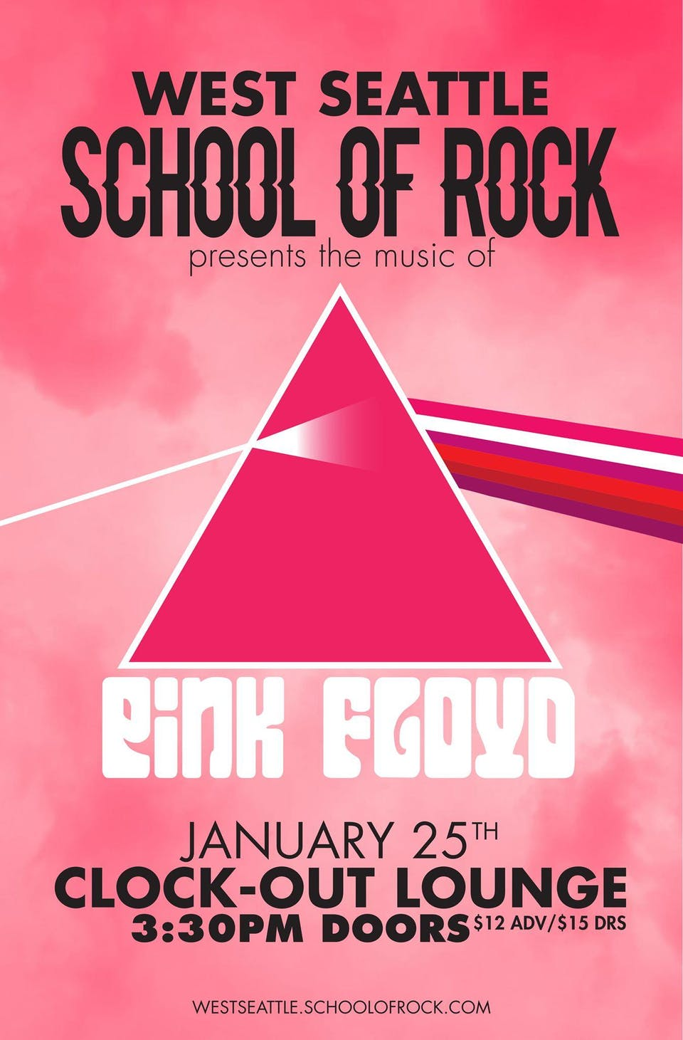 West Seattle School of Rock performs Pink Floyd