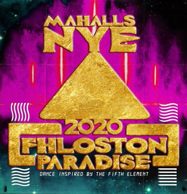 NYE 2020 Fhloston Paradise Dance Party