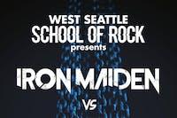 West Seattle School of Rock performs Iron Maiden vs. Judas Priest