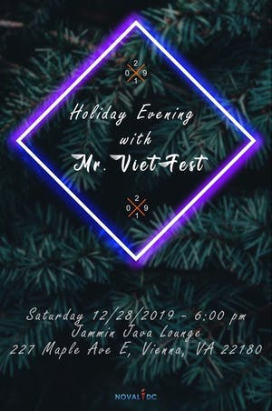 CANLAST Productions Presents: Holiday Evening with Mr. Vietfest