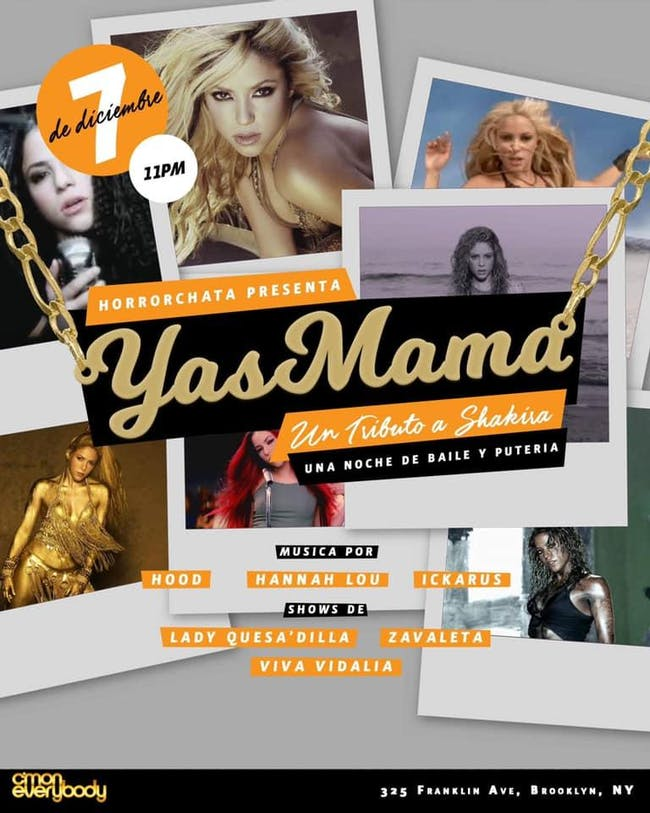 Yas Mama: Tributo a Shakira!