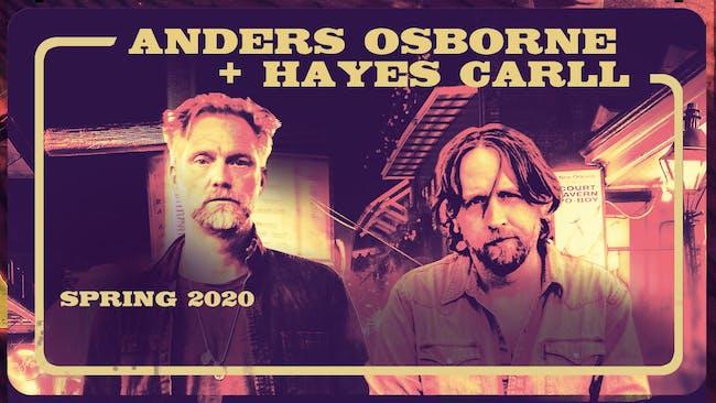 Anders Osborne & Hayes Carll