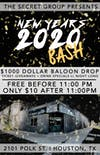 New Years 2020 Bash!