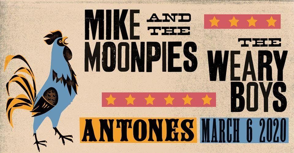 Mike and the Moonpies w/ The Weary Boys