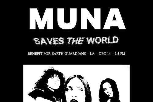 MUNA SAVES THE WORLD