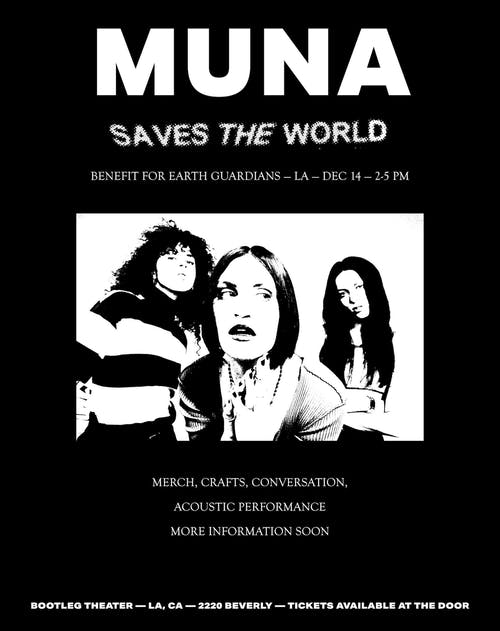 MUNA SAVES THE WORLD