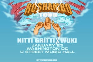 Roshambo Tour with Nitti Gritti & Wuki