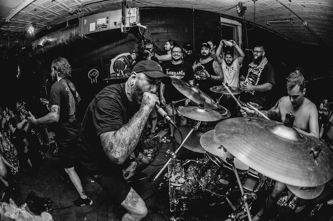 The Acacia Strain with Rotting Out, Chamber, & Fuming Mouth (CANCELED)