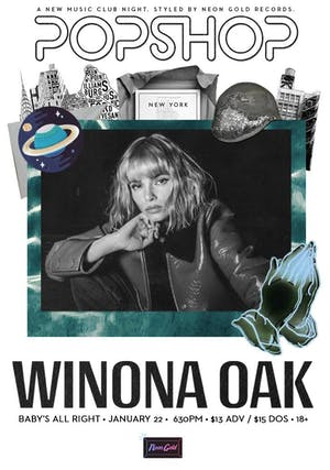 Posphop NYC: Winona Oak