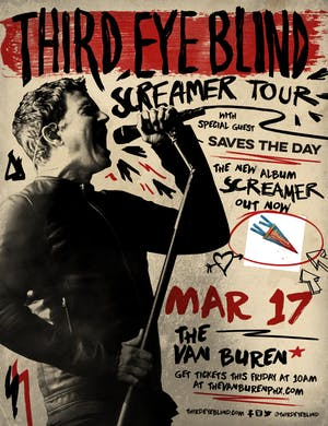 Third Eye Blind - Screamer Tour 2020