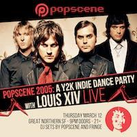 Popscene 2005: A Y2K Indie Dance Party ft. Louis XIV (Live)