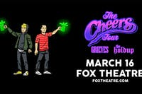 THE CHEERS TOUR: GRIEVES + THE HOLDUP with P.MO, VOZ 11