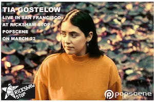TIA GOSTELOW with support tba