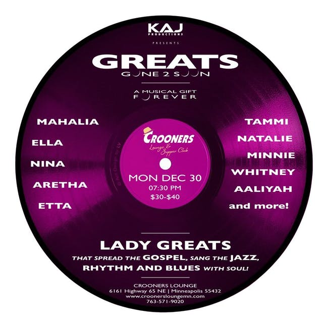 Greats Gone 2 Soon: Lady Greats Encore
