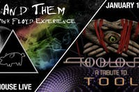 US AND THEM - THE PINK FLOYD EXPERIENCE / TOOLOJI - A TRIBUTE TO TOOL