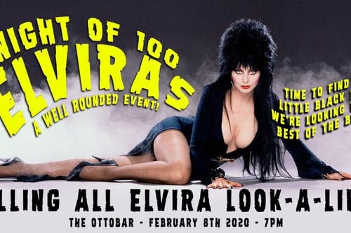 Night of 100 Elviras!