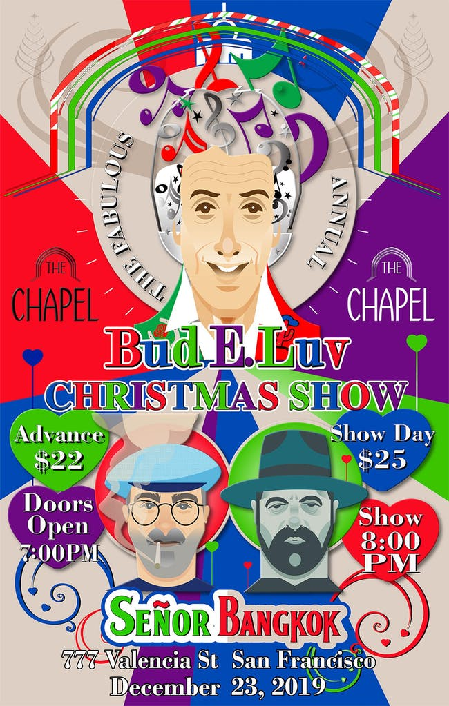 The Fabulous Bud E. Luv Christmas Spectacular