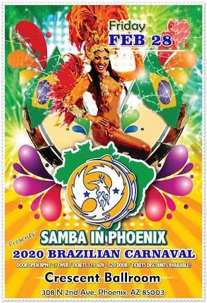 BRAZILIAN CARNAVAL : SAMBA IN PHOENIX!
