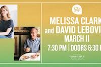 Melissa Clark & David Lebovitz
