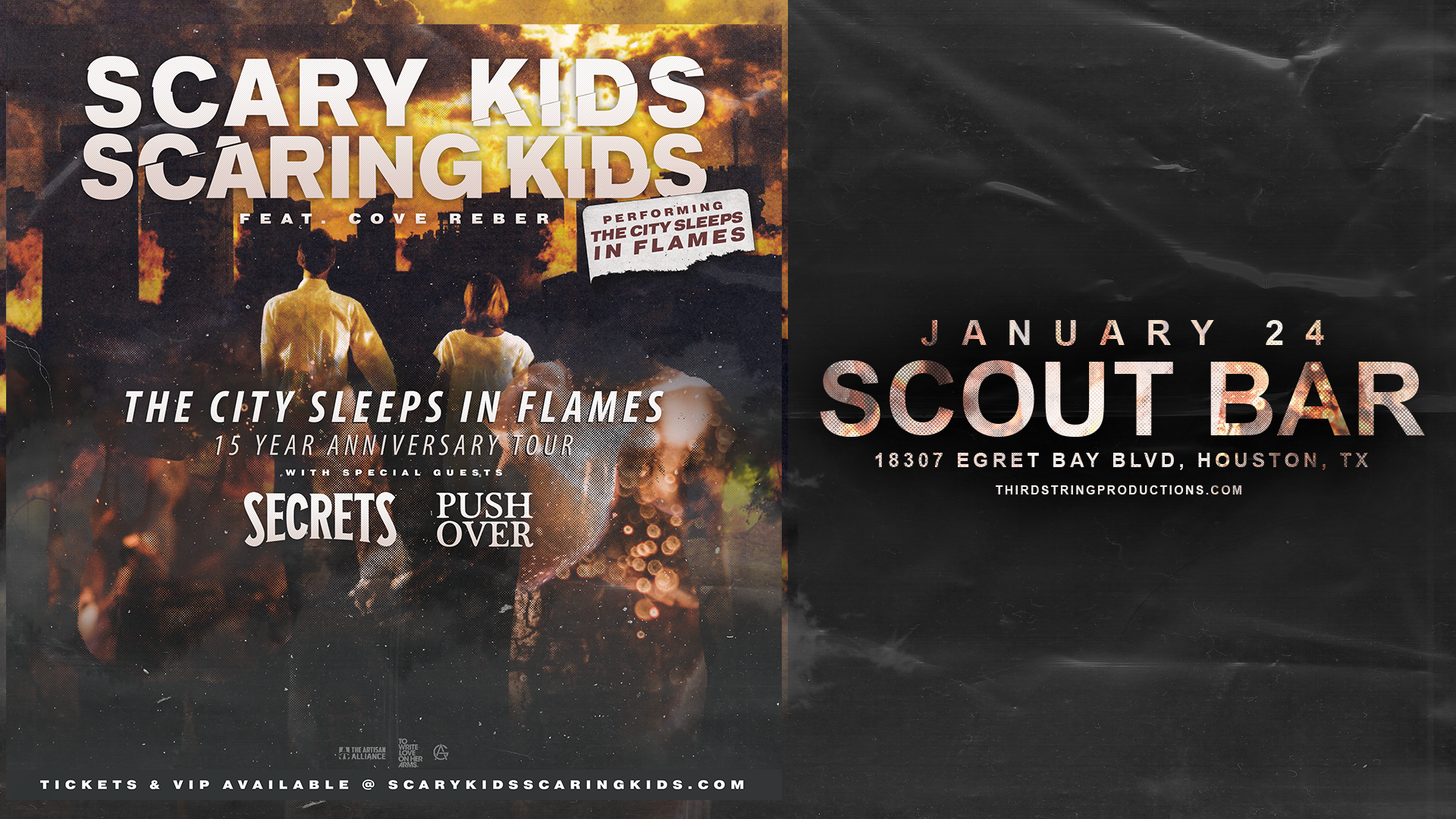 Scary Kids Scaring Kids at Scout Bar