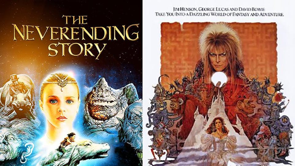 "Double Feature: ""The Neverending Story"" & ""Labyrinth"""