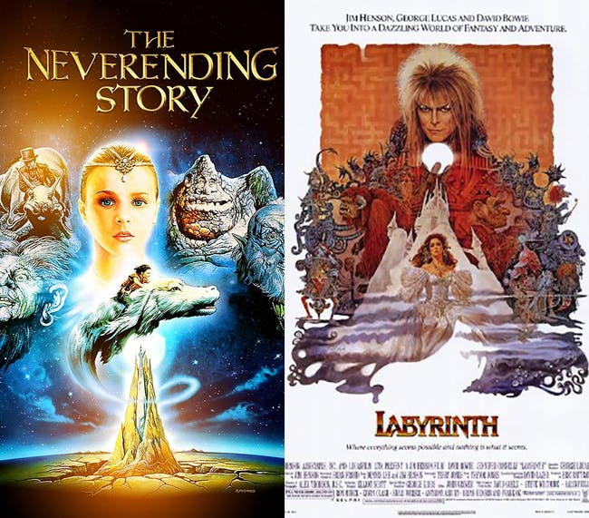 """Double Feature: """"The Neverending Story"""" & """"Labyrinth"""""""