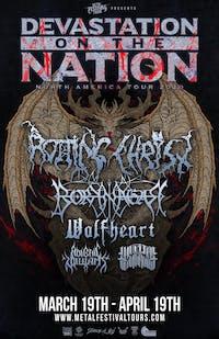 Devastation on the Nation Tour 2020 w/ Rotting Christ, Borknagar & more!