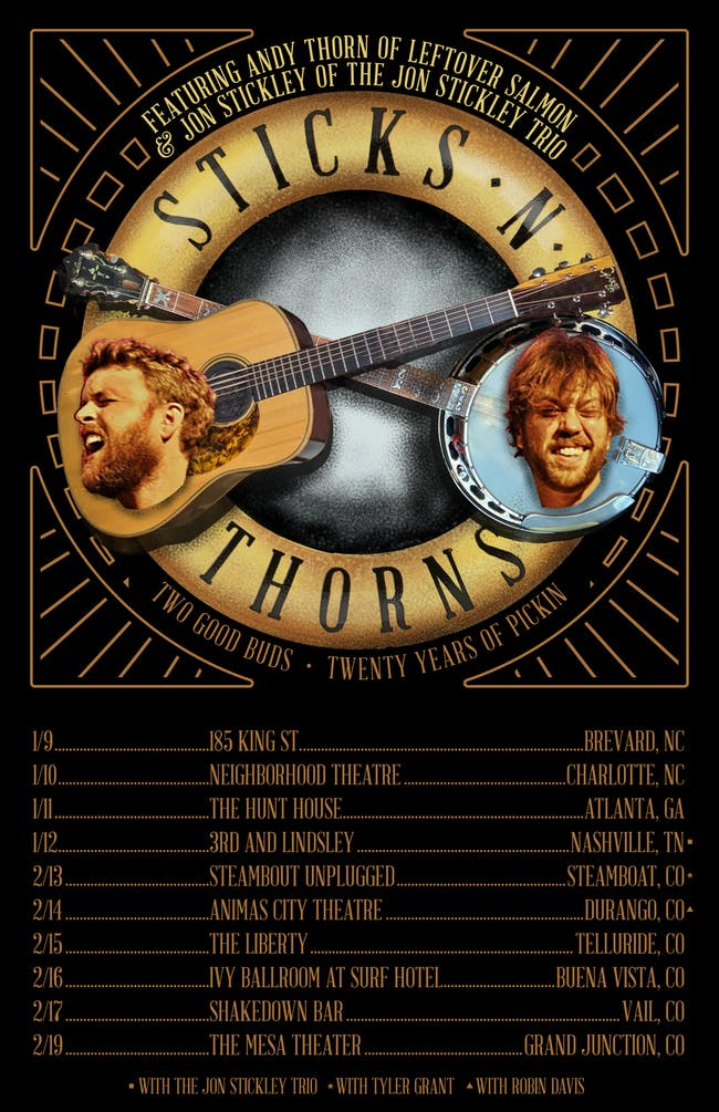 Sticks N' Thorns Featuring Jon Stickley and Andy Thorn
