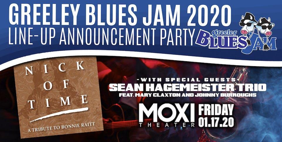 Greeley Blues Jam 2020 Line-Up Announcement Party