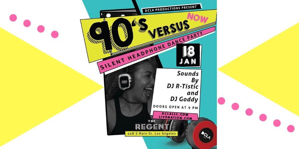 90's Versus NOW!  | Silent Headphone Dance Party