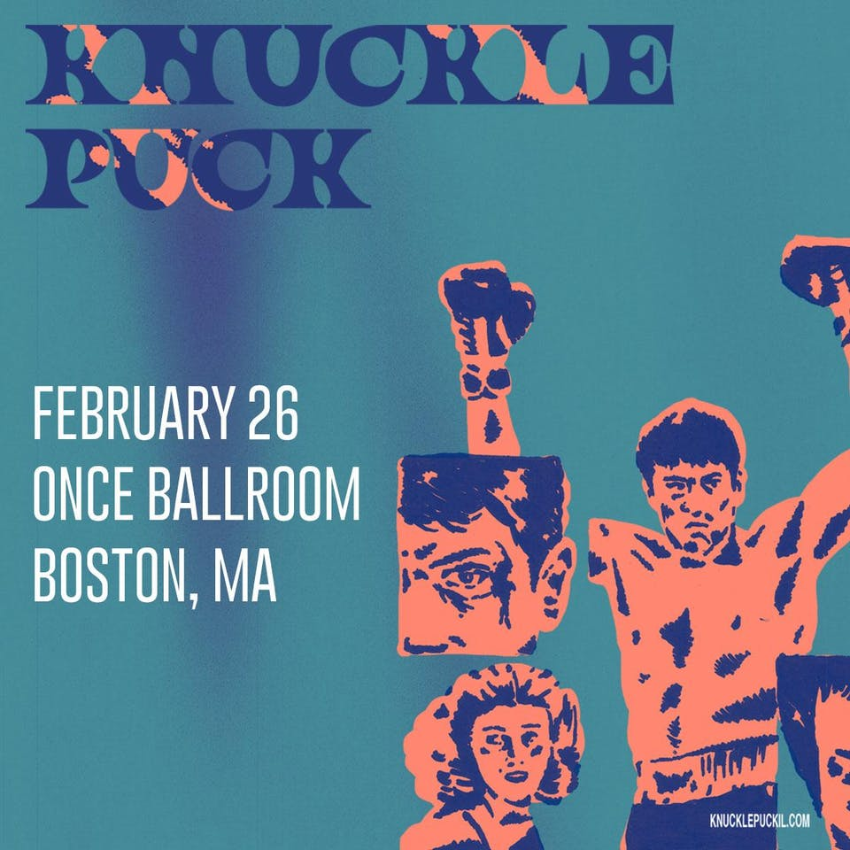 SOLD OUT: Knuckle Puck w/ Heart Attack Man, One Step Closer, Anxious