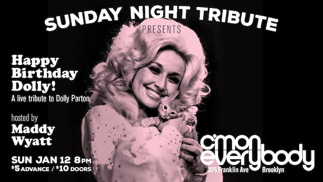 Happy Birthday Dolly! *A Live Tribute To Dolly Parton*