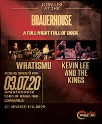 Whatismu with Kevin Lee & the Kings at Brauer House