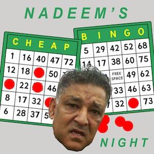 Nadeem's Cheap Assed Bingo Night w/ Jiblet Dupree