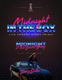 MIDNIGHT IN THE BOX Live Comedy