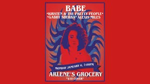Babe, Kirsten and the Pretty People, Gabby Sherba, Alexis Myles at Arlene's
