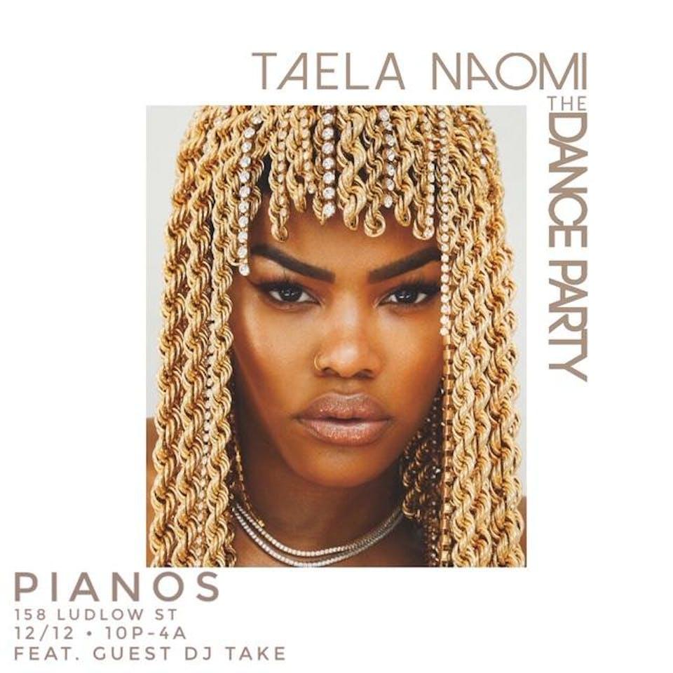 #THEDANCEPARTYNYC ft. DJ Taela Naomi