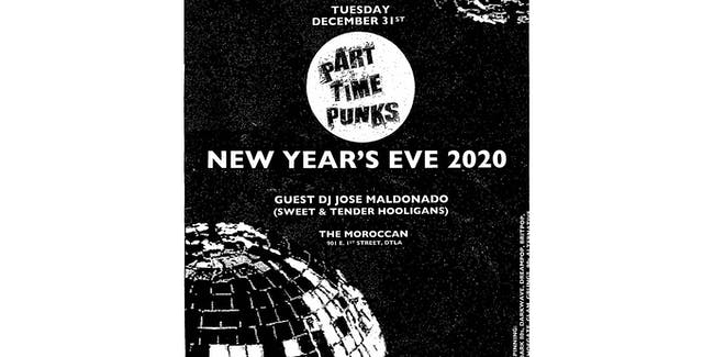 Part Time Punks NYE 2020
