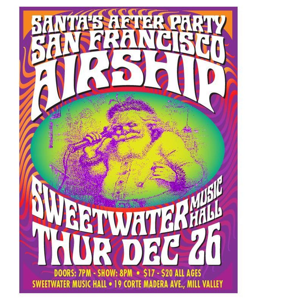 Santa's After-Party with San Francisco Airship