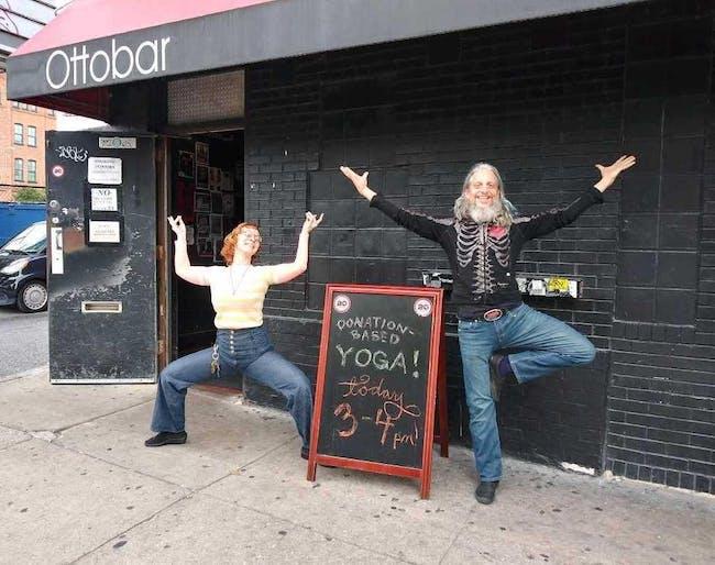 Donation Yoga at Ottobar