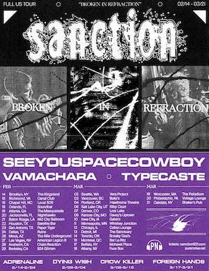 Sanction / SeeYouSpaceCowboy