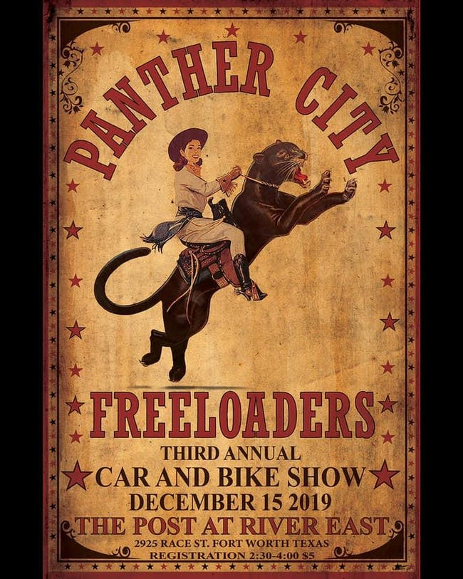 Panther City Freeloaders Car & Bike Show