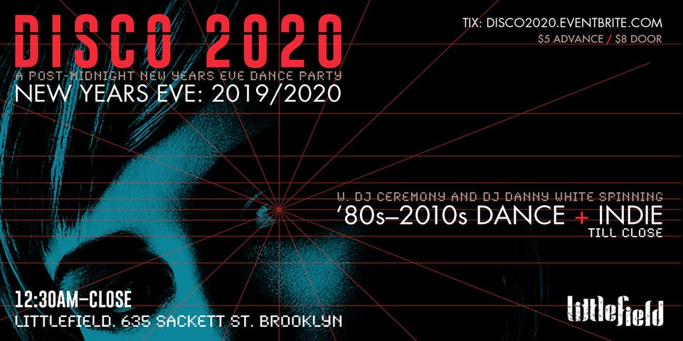 Disco 2020: A Post-Midnight New Years Eve Dance Party!