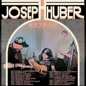 Joseph Huber (Full Band) w/ Abbey Waterworth & Eric Howell