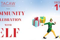 Community Celebration with Elf