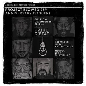 Project Blowed XXV Anniversary Concert