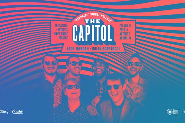 The Capitol Single Release w/ Zack Morgan & Friends and Brian Scartocci