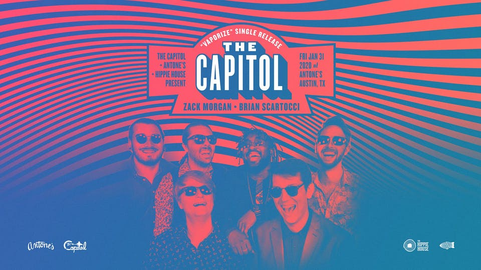 The Capitol Single Release w/ Zack Morgan & Friends and Brian Scartocci
