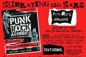 Punk Rock Aerobics GRCB Fundraiser